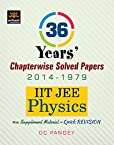 36 Years' Chapterwise Solved Papers (2014-1979) IIT JEE Physics