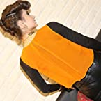 Done By None Orange Georgette Women - Tops