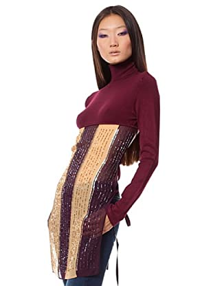 Custo Barcelona Rollkragenpullover Loirry (Bordeaux)