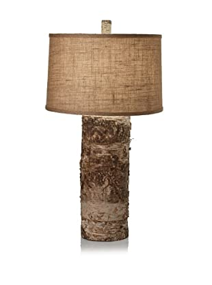 Lighting Accents Aspen Birch Bark Table Lamp