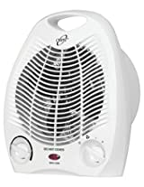 Orpat OEH-1250 2000-Watt Fan Heater (White)