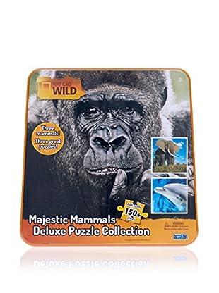National Geographic Puzzle Wild Majestic Mammals Deluxe Único Mayores de 3 años
