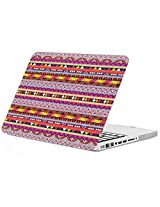 "Enthopia Premium Smooth Rubber Finish Hard Shell Case for Macbook Pro 13"" - AZTEC DESIGN - with Keyboard Guard"