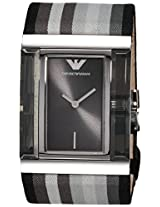 Emporio Armani Analog Gunmetal Dial Women's Watch - AR7310