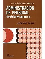 Administracion de personal/ Administration Staff: 2
