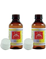 Rks aroma Fire & Ice Oil, (Pack Of 2) 50Ml each