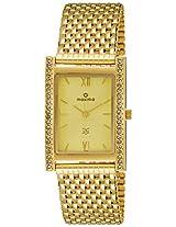Maxima Analog Gold Dial Women's Watch - 15180CMGY