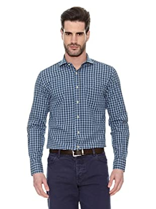 Victorio & Lucchino Camisa Casual (Azul)