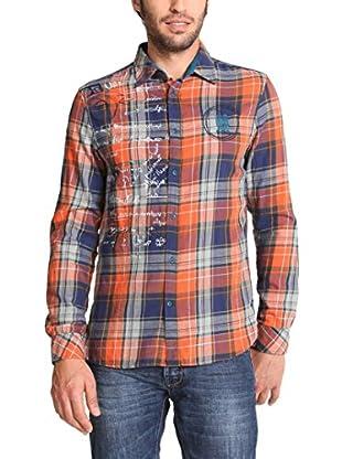 Desigual Camicia Uomo Tormenta