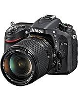 Nikon D7100 24.1 MP DX-Format CMOS Digital SLR Camera Bundle with 18-140mm and 55-300mm VR NIKKOR Zoom Lens (Black)