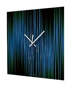 HangTime Lineas Aqua Wall Clock