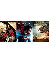 300/Superman - Man of Steel/Wrath of the Titans