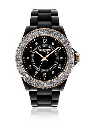 K&Bros  Reloj 9558 (Negro)