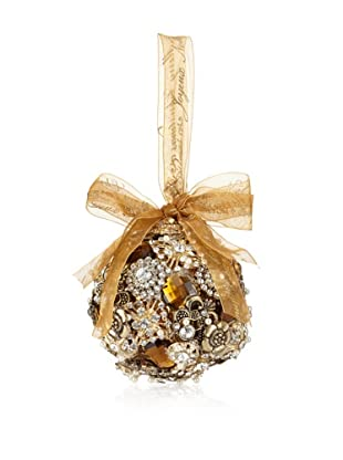 Sage & Co. Crystal Jewelry Ball Ornament