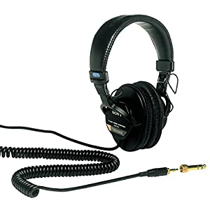 Sony MDR-7506 On-Ear Professional  Headphones (Black)