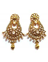 Shingar Ksvk Jewels Antique Polki Earrings danglers For Women (9451-pe-antique)