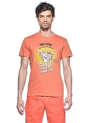 Salewa Camiseta Might Co M (Naranja)