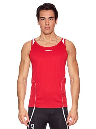Craft Camiseta Tiras T&F (Rojo)