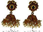 FASHION'S EXCLUSIVE GOLD TONED ALLOY EARRING FOR WOMENS