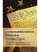 Iseseisvusdeklaratsioon, Pohiseadus, Avaldus Oigusi