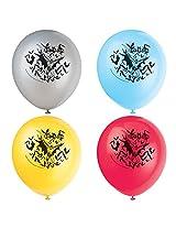 """Unique Latex Batman Balloons (8 Count), 12"""""""
