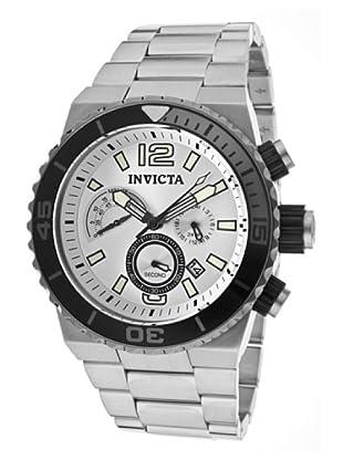 Invicta 12999 - Reloj de Caballero cuarzo metálico Plata