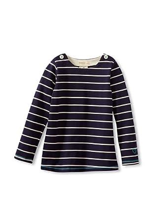 Hatley  Camiseta Termez (Marino / Blanco)