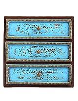 Lovable Brown Wood Hand Painted Vintage Drawer By Rajrang
