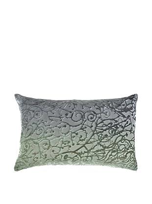 Kevin O'Brien Studio Hand-Painted Devore Velvet Minerva Pillow
