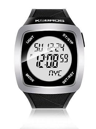 K&BROS Reloj 9567 (Negro)