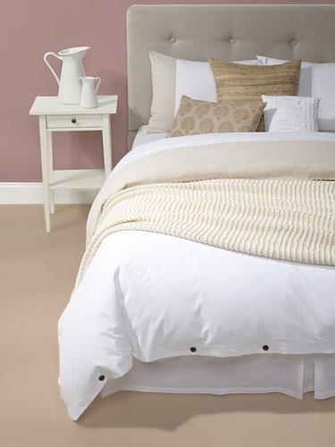 sOUP Home Elba Bedding Bundle (White/Natural)