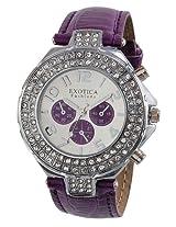 Exotica Fashions Ladies Watch - EF-N-07-Purple