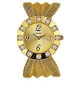 Aspen Feminine Exclusive Analog Gold Dial Men's Watch - AP1103