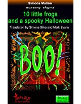 10 little frogs and a spooky Halloween (itty bitty) (Italian Edition)