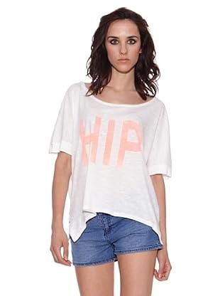The Hip Tee Camiseta Hip Tee crop (Blanco)