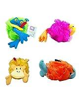 Razz Childrens Animal Sponge Puff, Assorted