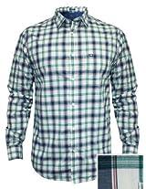 Arrow Green Casual Check Shirt