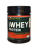 Optimum Nutrition (ON) 100% Whey Protein - 1 lb (Double Rich Chocolate)