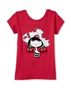 Sonia Rykiel Girl's Cherry Hat Shirt (Pink)