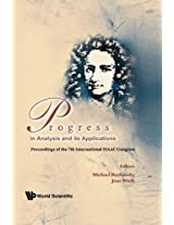 Progress In Analysis And Its Applications - Proceedings Of The 7Th International Isaac Congress