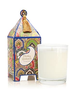Seda France Paisley Kashmiri Pagoda Box Candle, 10-Oz.