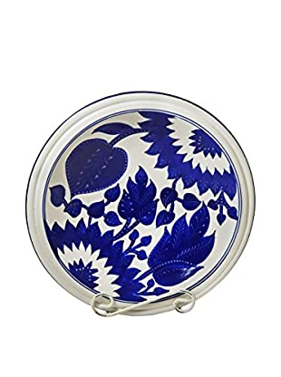 Le Souk Ceramique Jinane Medium Serving Bowl, Blue/White