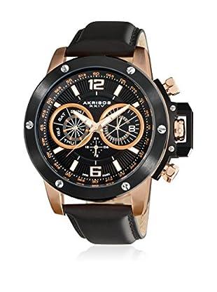 Akribos XXIV Reloj de cuarzo Man AK469RG Negro
