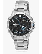 Era-200D-1Avdr-Ex195 Silver/Black Chronograph Watch Casio