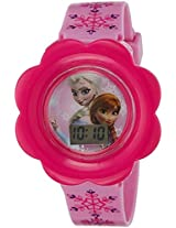 Disney Digital Multi-Colour Dial Girl's Watch - DW100476
