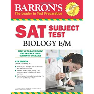 SAT Subject Test Biology (Sat Subject Test Biology E/M)