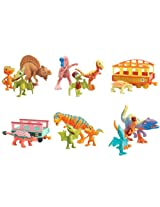Dinosaur Train Learning Curve 14 Figure and 2 Train Car Collection