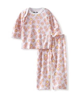 Margery Ellen Baby Pima Cotton Tee Set with Print (Daisy)