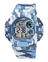 Q&Q Digital Muti-Colour Dial Watch for Men, Boys-M144J007Y