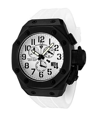 Swiss Legend Reloj Cronógrafo Trimix Diver Blanco